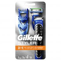 GILLETTE FUSION PROGLIDE POWER Система самобрсначка с 5 ножчета