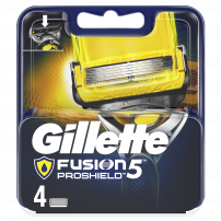 GILLETTE FUSION PROSHIELD Опаковка с ножчета, 4 бр.