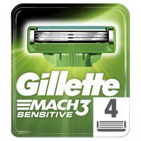 GILLETTE MACH 3 SENSITIVE Опаковка резервнис ножчета, 4 бр.