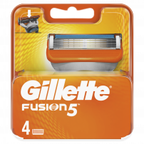 GILLETTE FUSION Опаковка с ножчета, 4 бр.