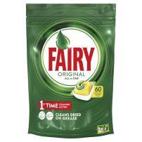 FAIRY Таблетки за съдомиялна лимон, 60бр.