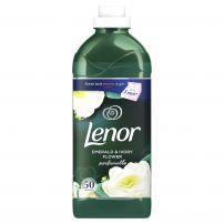 LENOR EMERLD & IVORY FLOWERS Омекотител 50 пранета, 1.5 л.