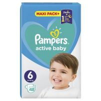 PAMPERS PANTS JUMBO PACK Памперс пелени екстра лардж размер 6, 48 бр.