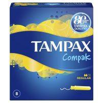 TAMPAX COMPAK Тампони нормални, 8 бр.