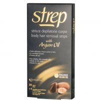 STREP Ленти за депилация за тяло ARGAN OIL, 20 бр.