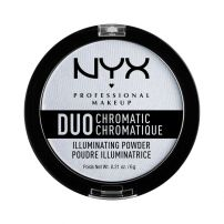 NYX PROFESSIONAL MAKE UP DUO HROMATIC ILUMINATING POWDER Озаряваща пудра 01