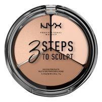 NYX PROFESSIONAL MAKE UP3 STEP TO SCULPT Руж 01