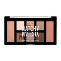NYX PROFESSIONAL MAKE UP Matchy Matchy Monochromatic Палитра сенки за очи