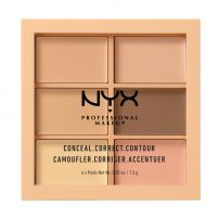 NYX PROFESSIONAL MAKE UP CONCEAL, CORRECT, CONTOURПалитра 3CP01 LIGHT, 9 гр.