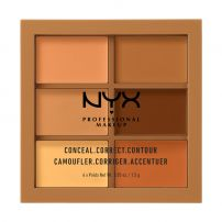 NYX PROFESSIONAL MAKE UP CONCEAL, CORRECT, CONTOUR Палитра 3CP03 DEEP, 9 гр.