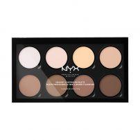 NYX PROFESSIONAL MAKE UP HIGHLIGHT & CONTOUR PRO Палитра HCPP01, 21.60 гр.