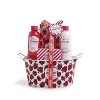 IDC VINTAGE FRUITS Подаръчен комплект ягода 98208, 5 части+кошница