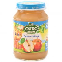 BEBELAN OVKO Пюре ябълки над 4 месеца, 190 гр