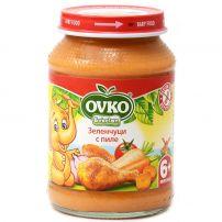 BEBELAN OVKO Пюре пилешко с пащърнак и зеленчуци, 190гр