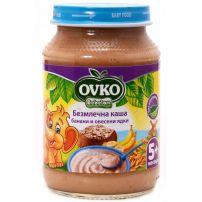 BEBELAN OVKO Безмлечна каша банани с овесени ядки 5+м., 190 гр