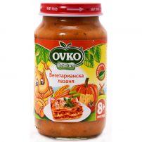BEBELAN OVKO Пюре вегетарианска лазаня 8+м, 220 гр