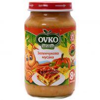 BEBELAN OVKO Пюре зеленчукува мусака 8+м, 220 гр