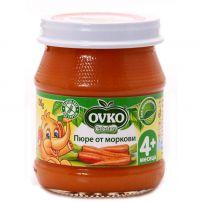 BEBELAN OVKO Пюре моркови за захранване 4+мес, 100гр