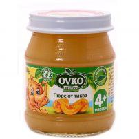 BEBELAN OVKO пюре тиква за захранване 4+мес, 100гр