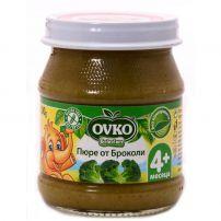 BEBELAN OVKO Пюре броколи за захранване 4+мес, 100 гр