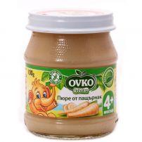BEBELAN OVKO Пюре пащърнак за захранване 4+мес, 100 гр