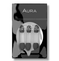 AURA Силиконови апликатори за сенки мини, 3 бр.