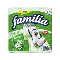 FAMILIA PERFUME Тоалетна хартия 3 пласта Момина сълза, 4 бр.