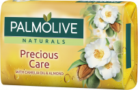 PALMOLIVE NATURALS Сапунс с камелия и бадем precious care, 90 гр.