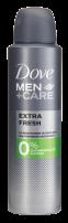 DOVE MEN +CARE Мъжки део спрей Extra fresh 0% алуминий, 150 мл.