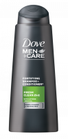 DOVE MEN +CARE Мъжки шампоан Fresh clean 2in1, 250 мл.