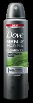DOVE MEN +CARE Мъжки део спрей Elements Fresh, 150 мл.