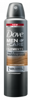 DOVE MEN +CARE Мъжки део спрей Elements Talc mineral+Sandal wood, 150 мл.