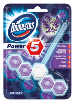 DOMESTOS POWER 5 WC ароматизатор лавандула, 55 гр.