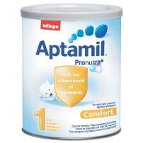 MILUPA APTAMIL COMFORT 1 Адаптирано мляко за кърмачета 0-6м., 400 гр.