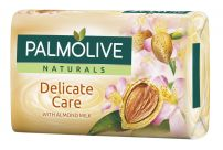 PALMOLIVE NATURALS Сапунс с бадемово мляко delicate care, 90 гр.