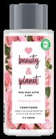 LOVE BEAUTY AND PLANET Балсам за коса муру и роза, 400 мл.