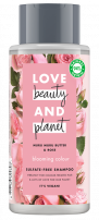 LOVE BEAUTY AND PLANET Шампоан за коса муру и роза, 400 мл.