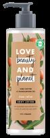 LOVE BEAUTY AND PLANET Лосион за тяло масло от ший, 400 мл.