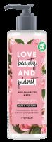 LOVE BEAUTY AND PLANET Лосион за тяло муру и роза, 400 мл.