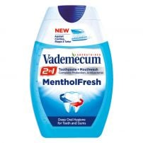 VADEMECUM 2IN1 MENTHOL FRESH  Паста за зъби, 75 мл.