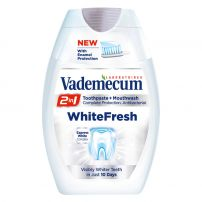 VADEMECUM 2IN1 WHITE FRESH  Паста за зъби, 75 мл.