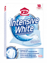 K2R INTENSIVE WHITE STRONG WHITENING POWER Кърпички за пране, 10 бр.