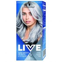 LIVE ULTRA BRIGHTS Боя за коса 098 Steel silver