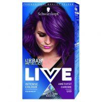LIVE URBAN METALLICS Боя за коса U69 Amethyst chrome