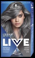 LIVE URBAN METALLICS Боя за коса U72 Dusty silver