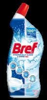 BREF WC HYGIENICALLY CLEAN & SHINE GEL Препарат за почистване на тоалетна чиния FRESH MIST, 700 мл.