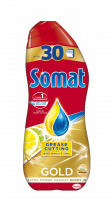 SOMAT GOLD GREASE CUTTING WITH LEMON & LIME Гел за съдомиялна, 540 мл.