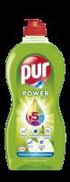 PUR POWER GREASE+ CRUSTS APPLE Препарат за съдове, 450 мл.