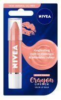 NIVEA CRAYON LIPSTICK Балсам за устни безцветен, 3 гр.