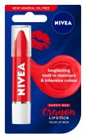 NIVEA CRAYON LIPSTICK Балсам за устни черен, 3 гр.